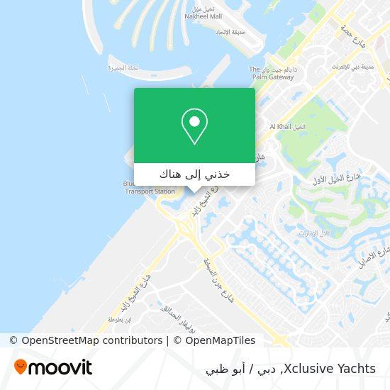 خريطة Xclusive Yachts