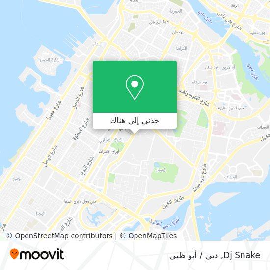 خريطة Dj Snake