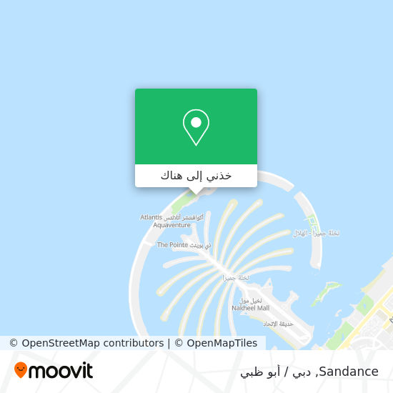 خريطة Sandance