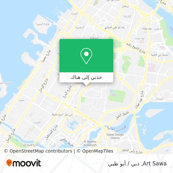 خريطة Art Sawa