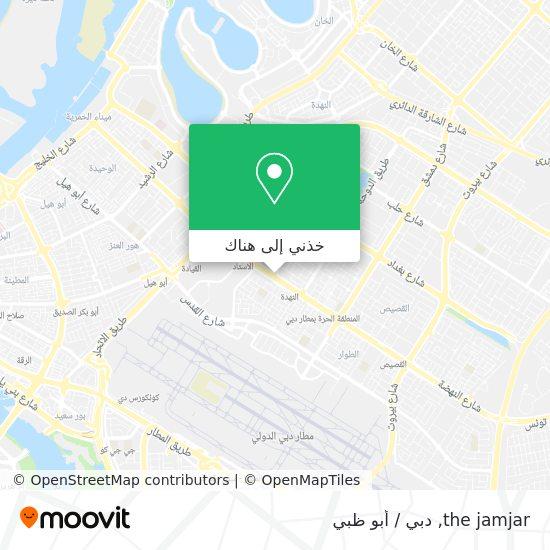خريطة the jamjar