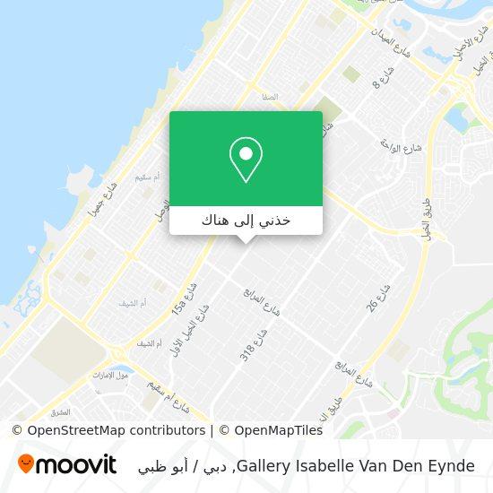 خريطة Gallery Isabelle Van Den Eynde