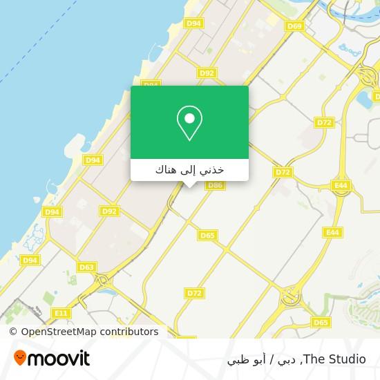 خريطة The Studio