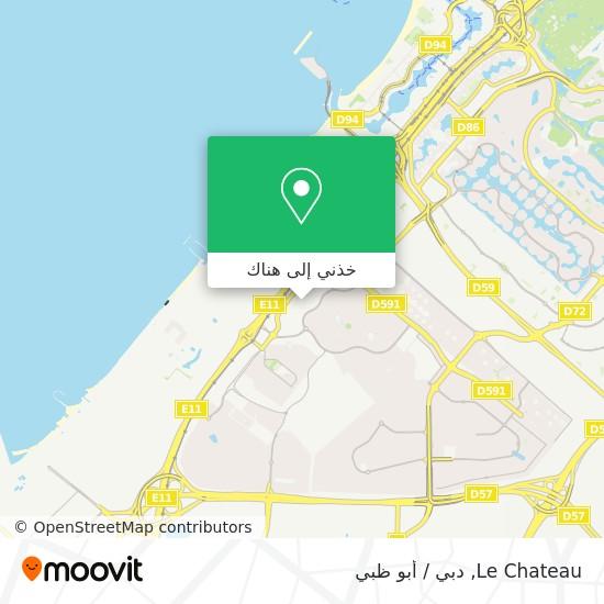 خريطة Le Chateau