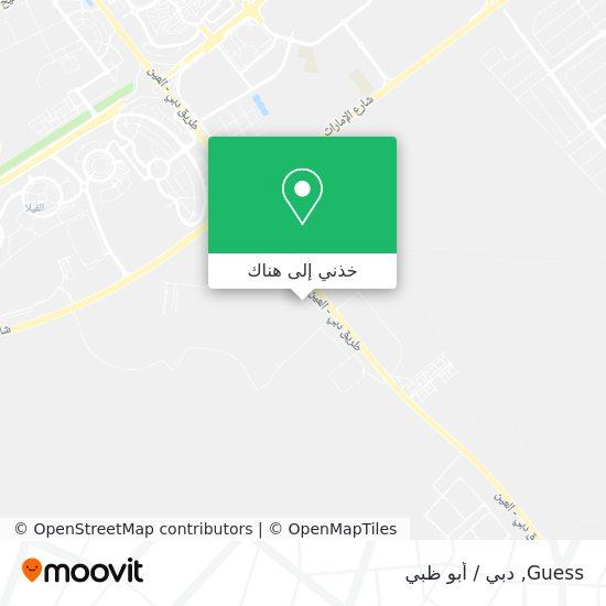 خريطة Guess