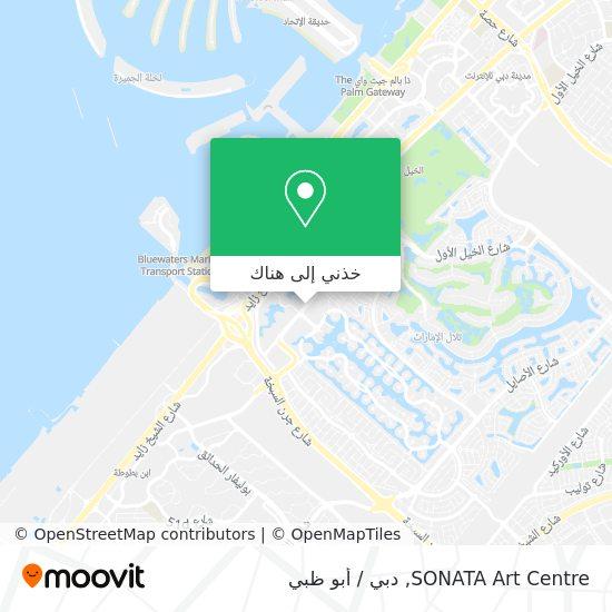 خريطة SONATA Art Centre