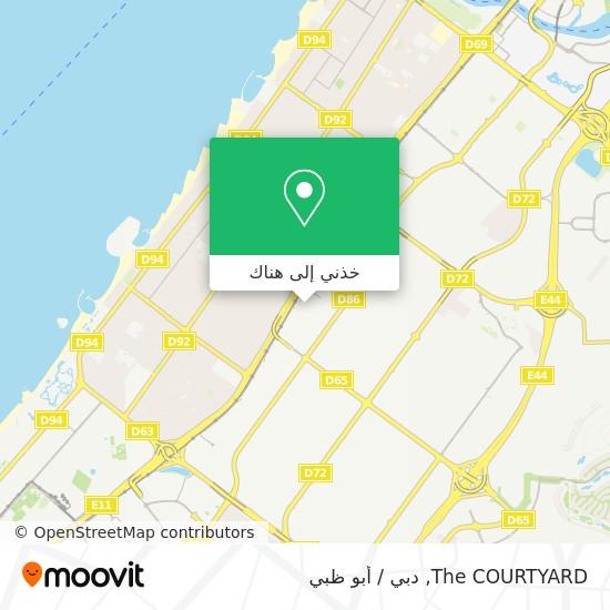 خريطة The COURTYARD