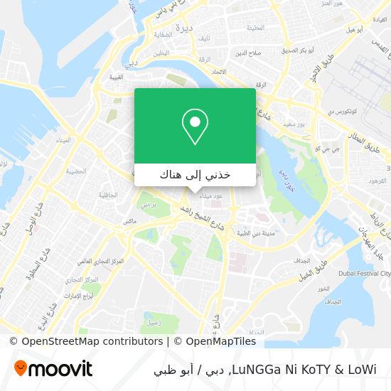 خريطة LuNGGa Ni KoTY & LoWi