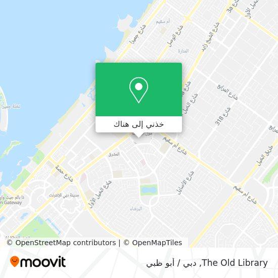 خريطة The Old Library
