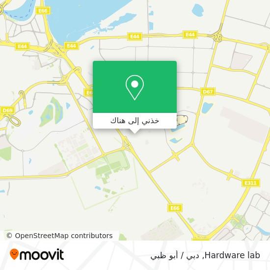 خريطة Hardware lab