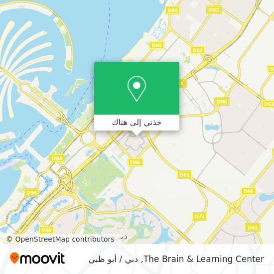 خريطة The Brain & Learning Center