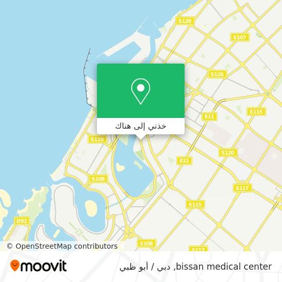 خريطة bissan medical center