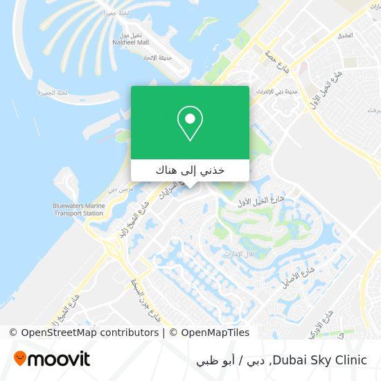 خريطة Dubai Sky Clinic