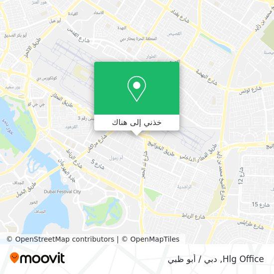 خريطة Hlg Office