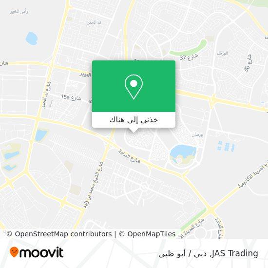 خريطة JAS Trading