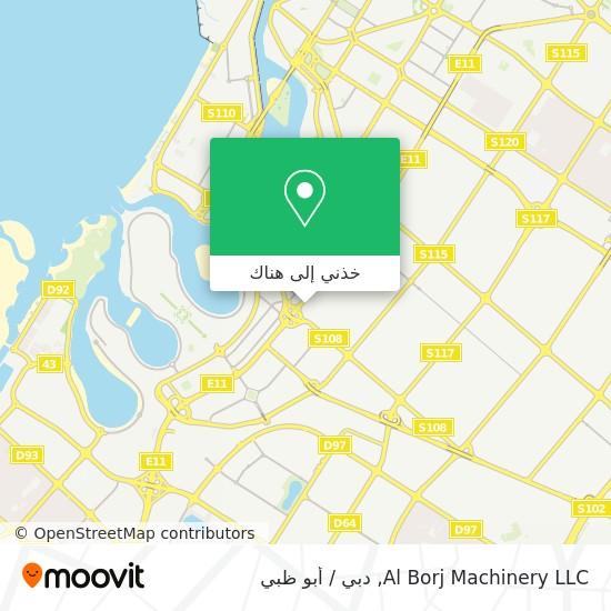 خريطة Al Borj Machinery LLC