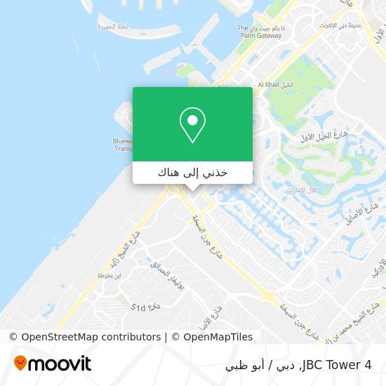 خريطة JBC Tower 4