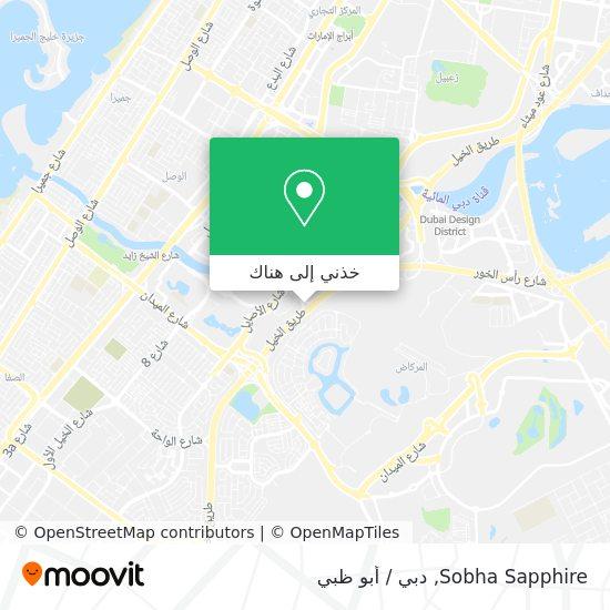 خريطة Sobha Sapphire