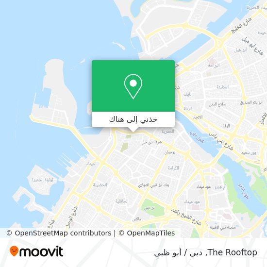 خريطة The Rooftop