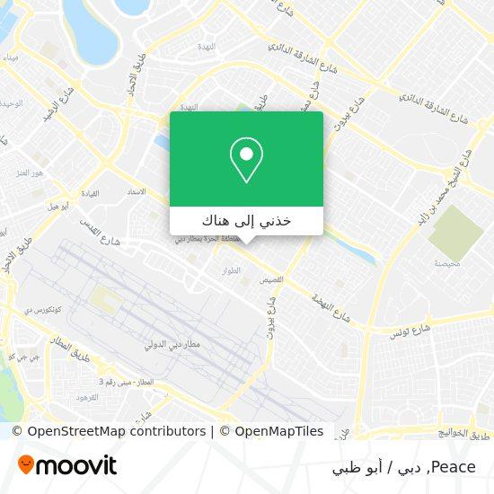 خريطة Peace