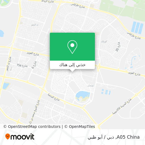 خريطة A05 China