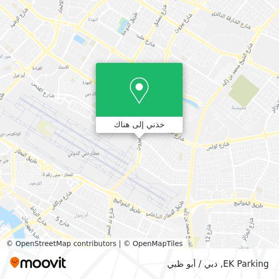 خريطة EK Parking