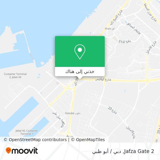 خريطة Jafza Gate 2