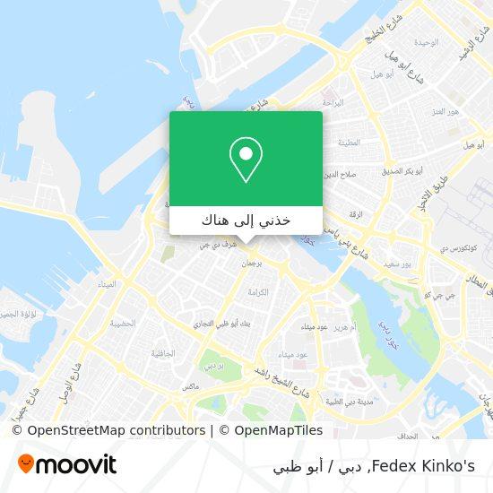 خريطة Fedex Kinko's