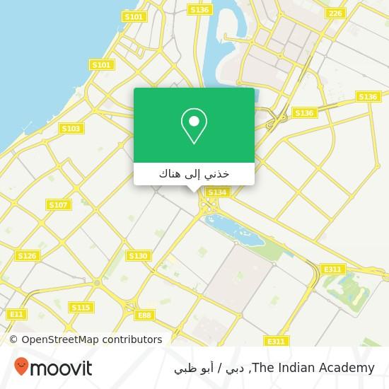 خريطة The Indian Academy