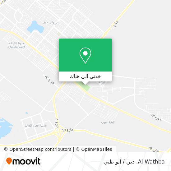 خريطة Al Wathba