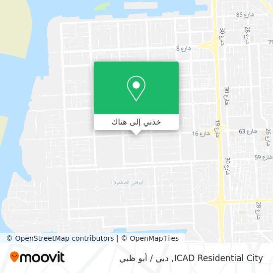 خريطة ICAD Residential City