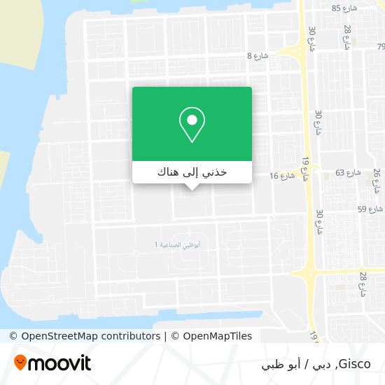 خريطة Gisco