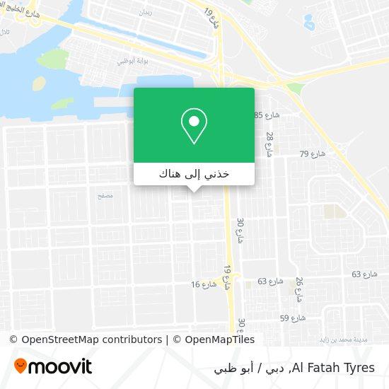 خريطة Al Fatah Tyres