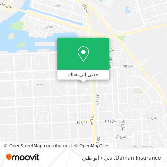خريطة Daman Insurance