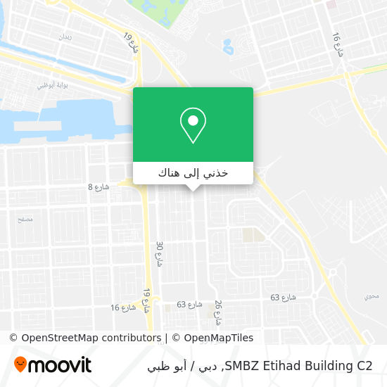 خريطة SMBZ Etihad Building C2