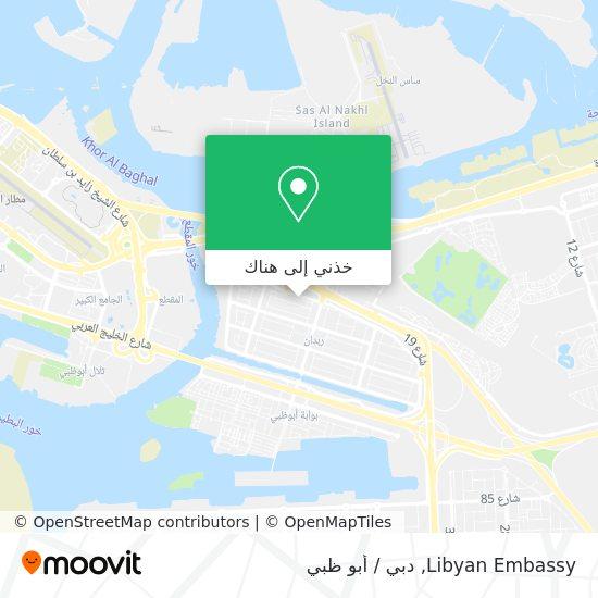 خريطة Libyan Embassy