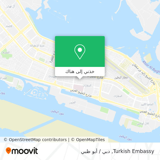 خريطة Turkish Embassy