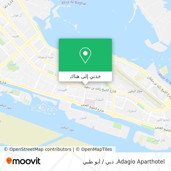 خريطة Adagio Aparthotel