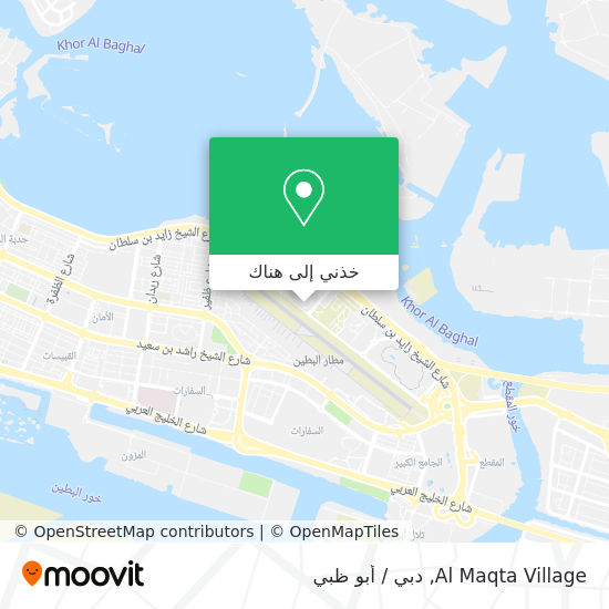 خريطة Al Maqta Village