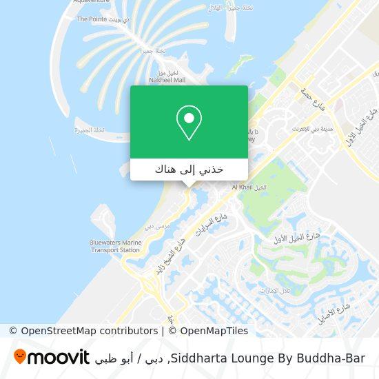 خريطة Siddharta  Lounge By Buddha-Bar