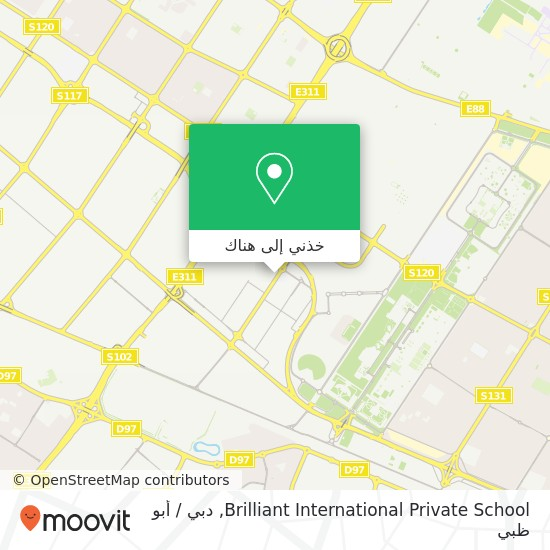 خريطة Brilliant International Private School
