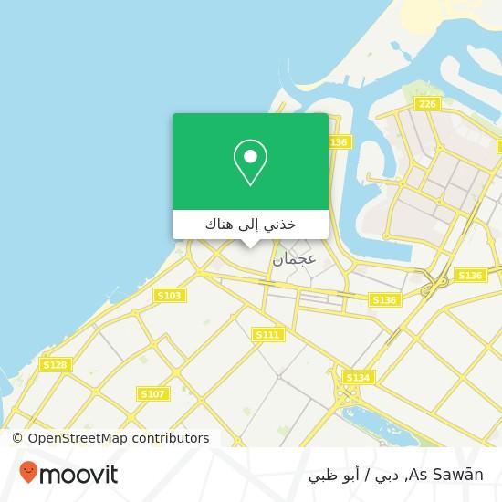 خريطة As Sawān