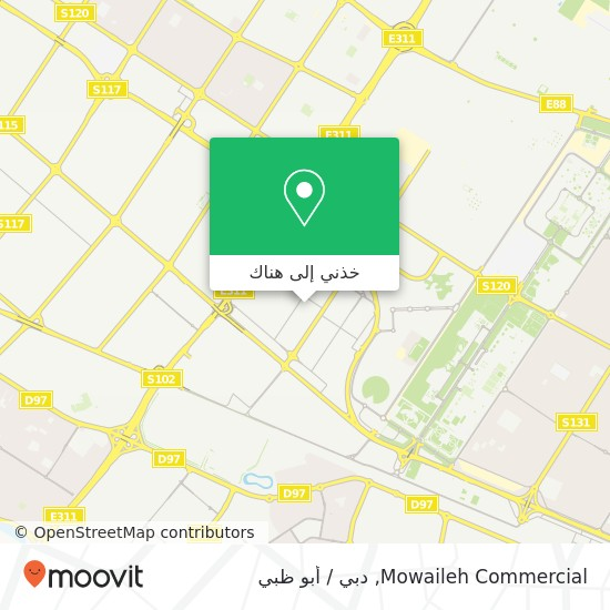 خريطة Mowaileh Commercial