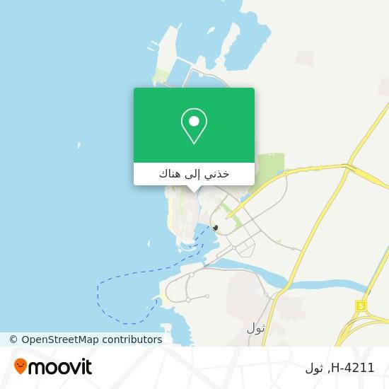 خريطة H-4211