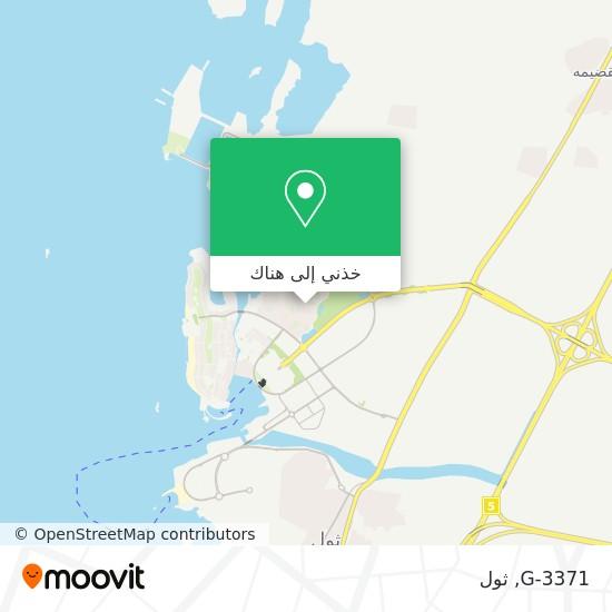 خريطة G-3371