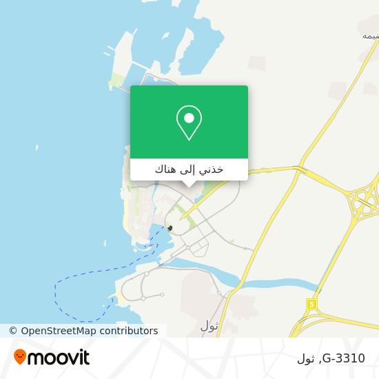 خريطة G-3310