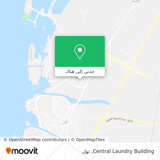 خريطة Central Laundry Building