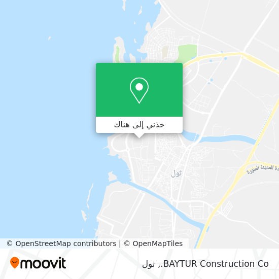 خريطة BAYTUR Construction Co.