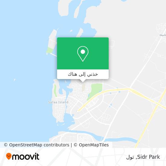خريطة Sidr Park