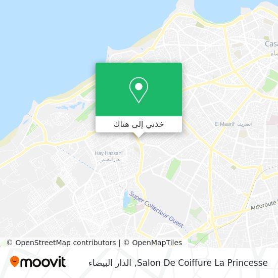 خريطة Salon De Coiffure La Princesse